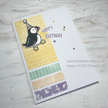 Casually Crafting Design Team Blog Hop Party Puffins