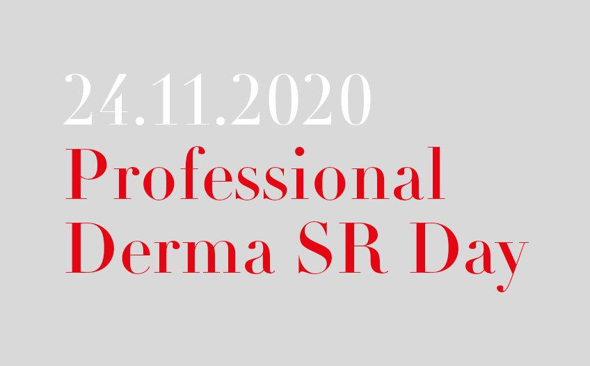Professional Derma SR Day, 24.11.2020
