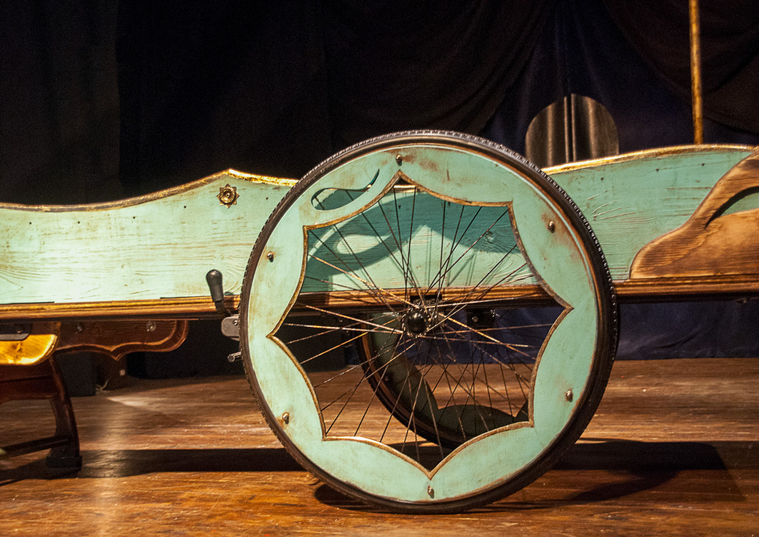 The Chariot, detalle, 2020
