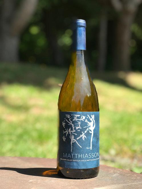 Matthiasson Ribolla Gialla- Matthiasson Vineyard