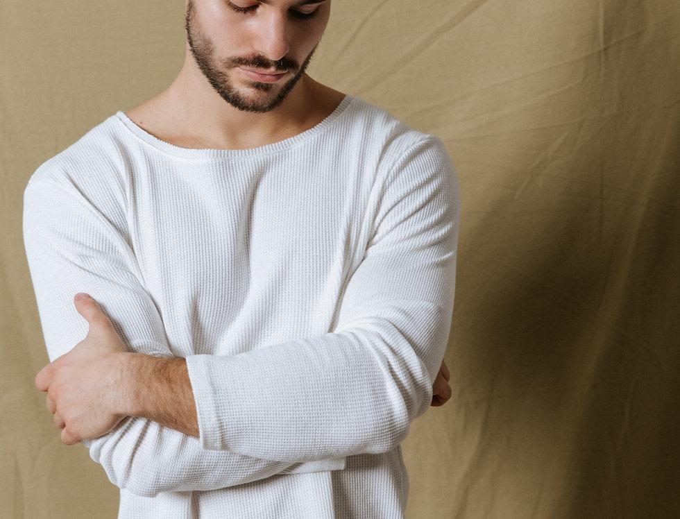 Suéter ultra liviano Gary White