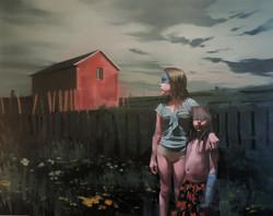Sans titre (#2011) huile sur toile,130X1