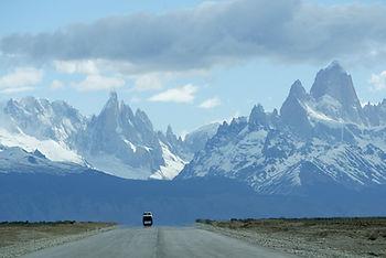 Driving El Chalten