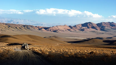 Driving in Salta Province