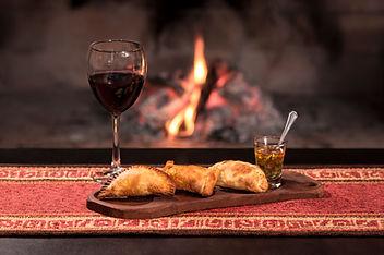 Wine and empanadas