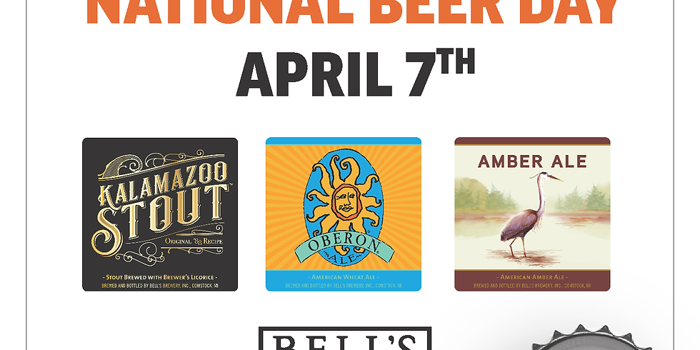 Casual Pint National Beer Day with Bell's!