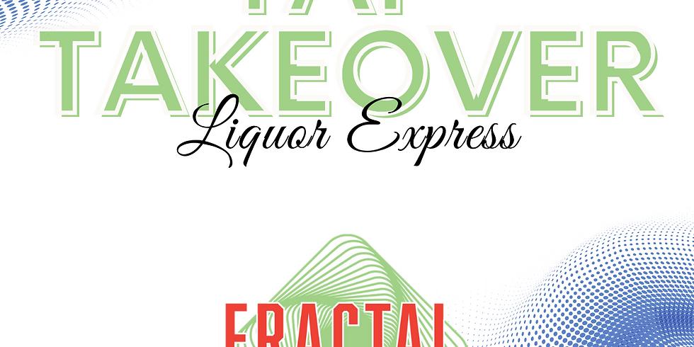 Fractal Tap Takeover at Liquor Express