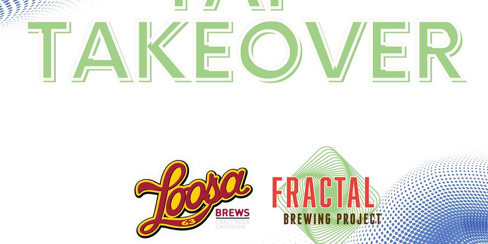 Fractal Tap Takeover at Loosa Brews