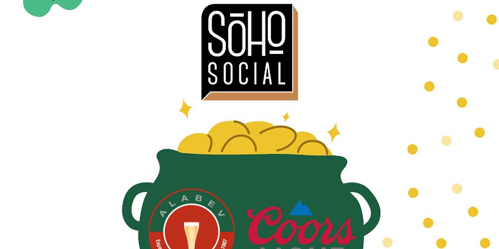 ST PATTY'S Coors Light Draft Specials at Soho Social (2)