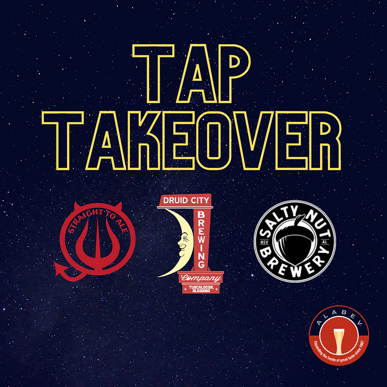 Straight to Ale, Druid City & Salty Nut Tap Takeover at Beer Hog