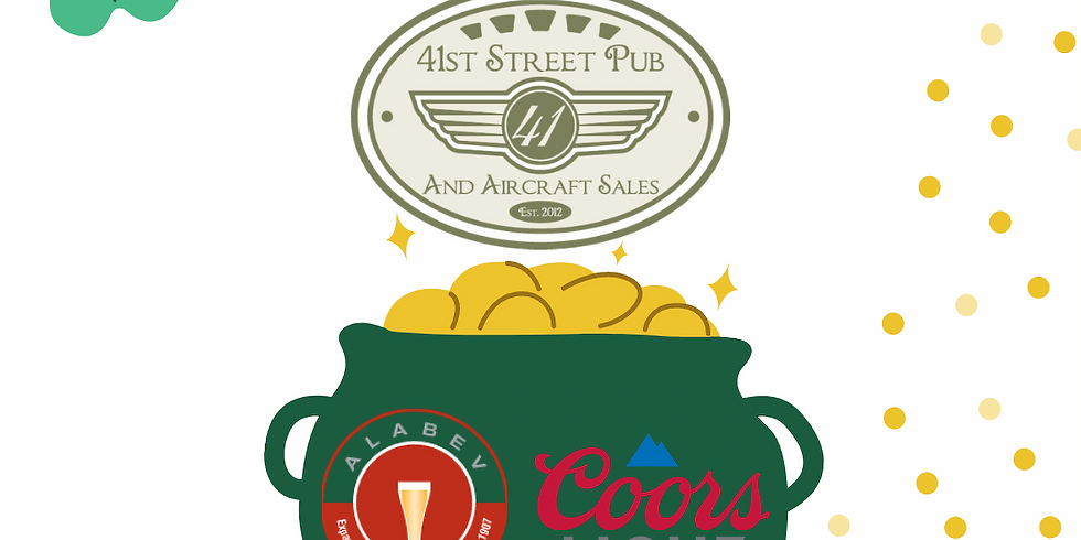 ST PATTY'S Coors Light Specials at 41st Street Pub