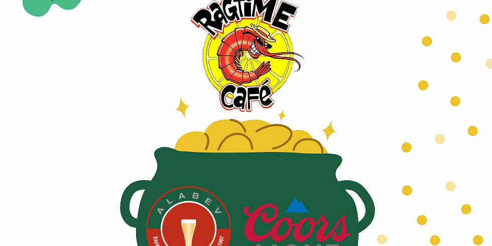 ST PATTY'S Coors Light Draft Specials at Ragtime Cafe