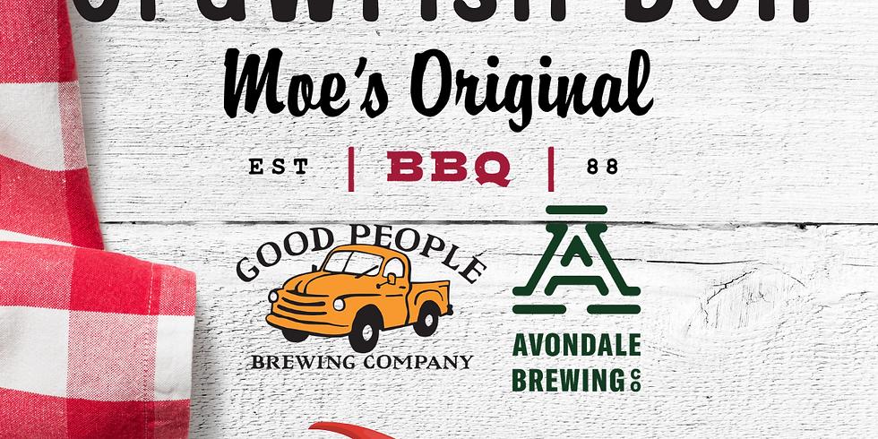 Moe's BBQ Lakeview Crawfish Boil