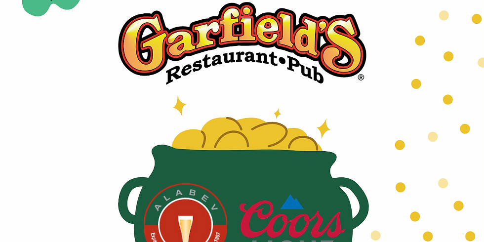 ST PATTY'S Coors Light Specials at Garfield's