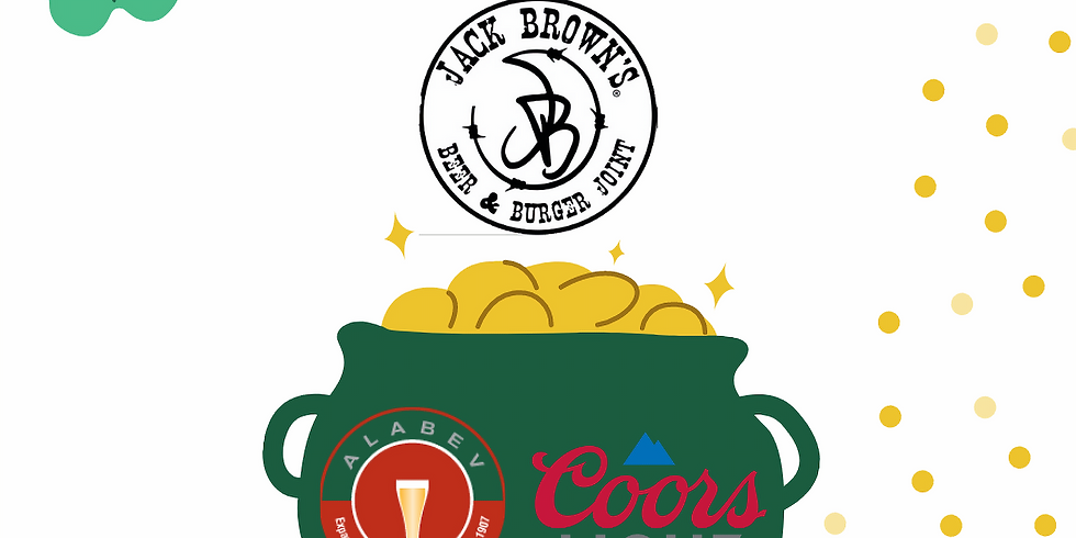 ST PATTY'S Coors Light Specials at Jack Brown's Birmingham