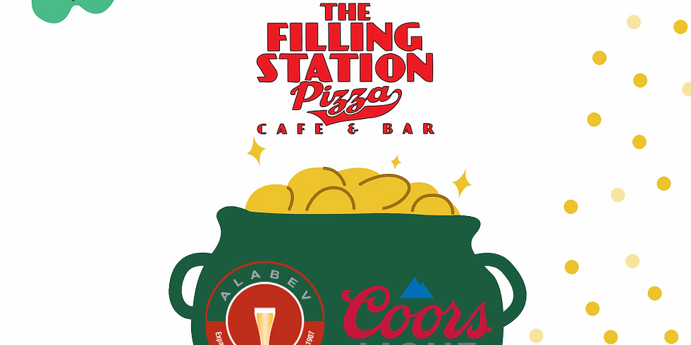 ST PATTY'S Coors Light Specials at the Filling Station
