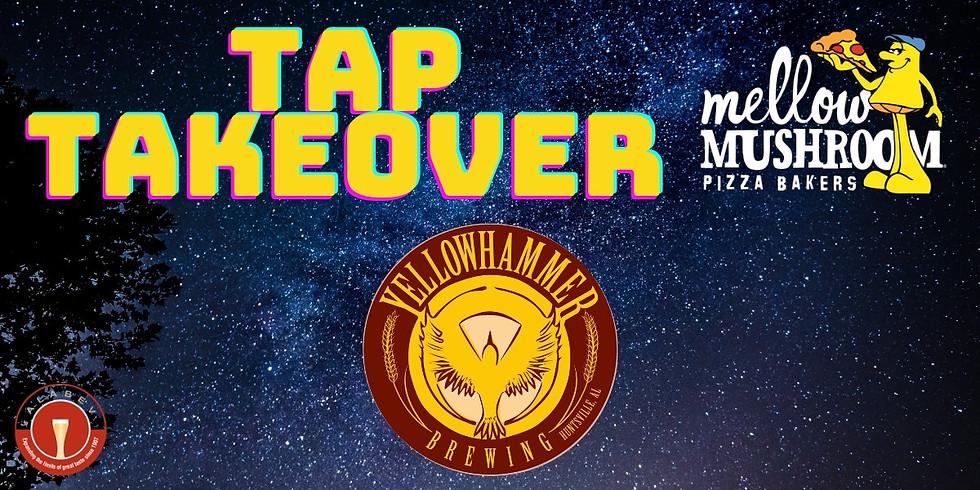 Yellowhammer Tap Takeover at Mellow Mushroom Jones Valley