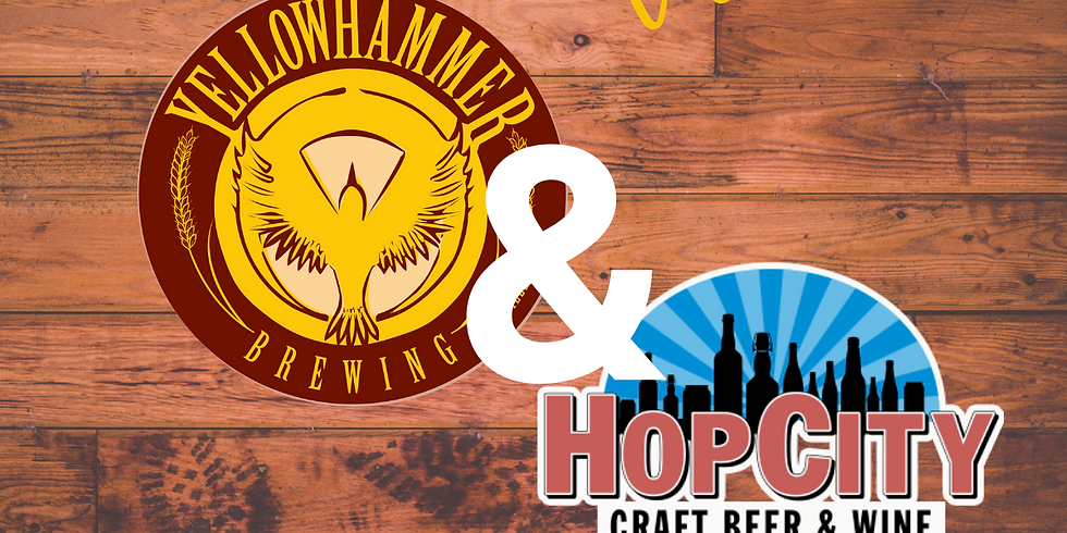 Yellowhammer/Hop City Collab release!
