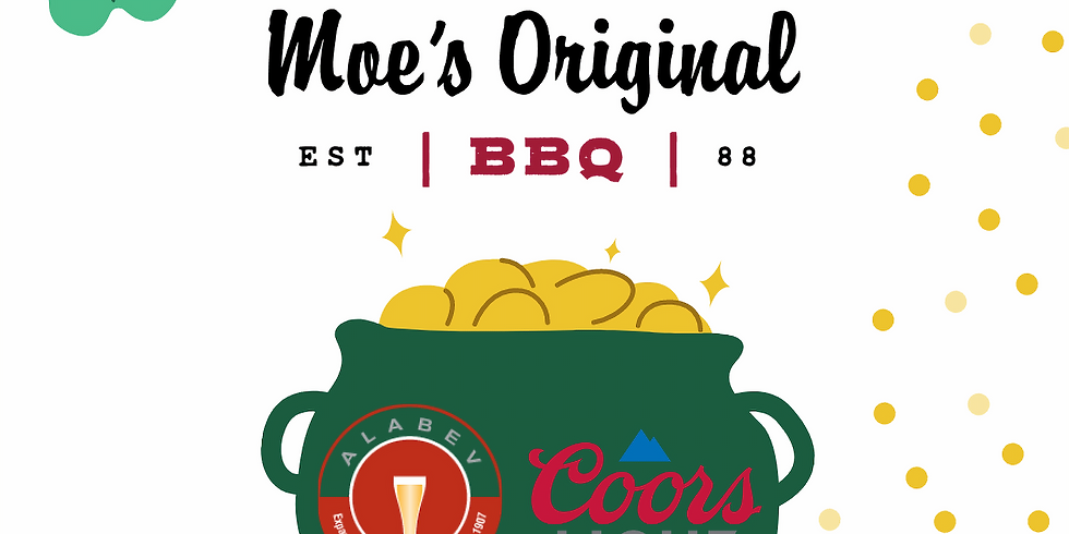 ST PATTY'S Coors Light Specials at Moe's Lakeview