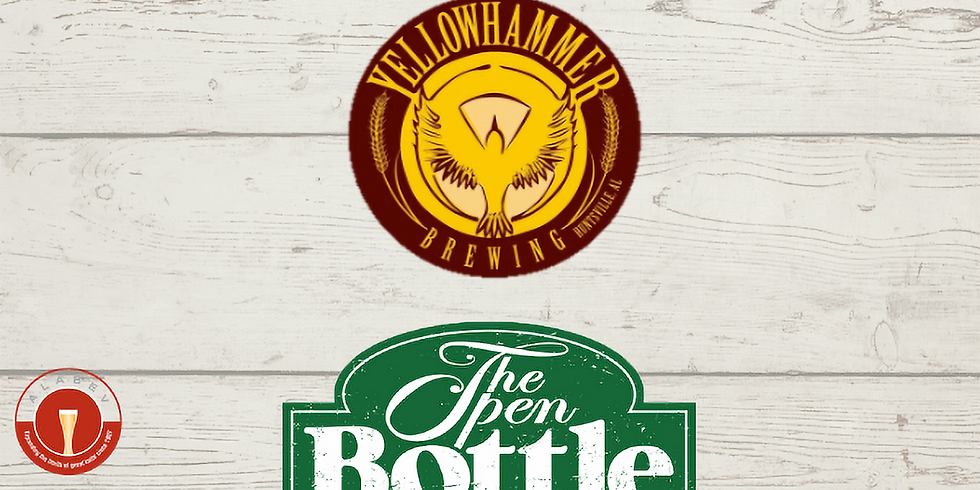Yellowhammer Tap Takeover at The Open Bottle
