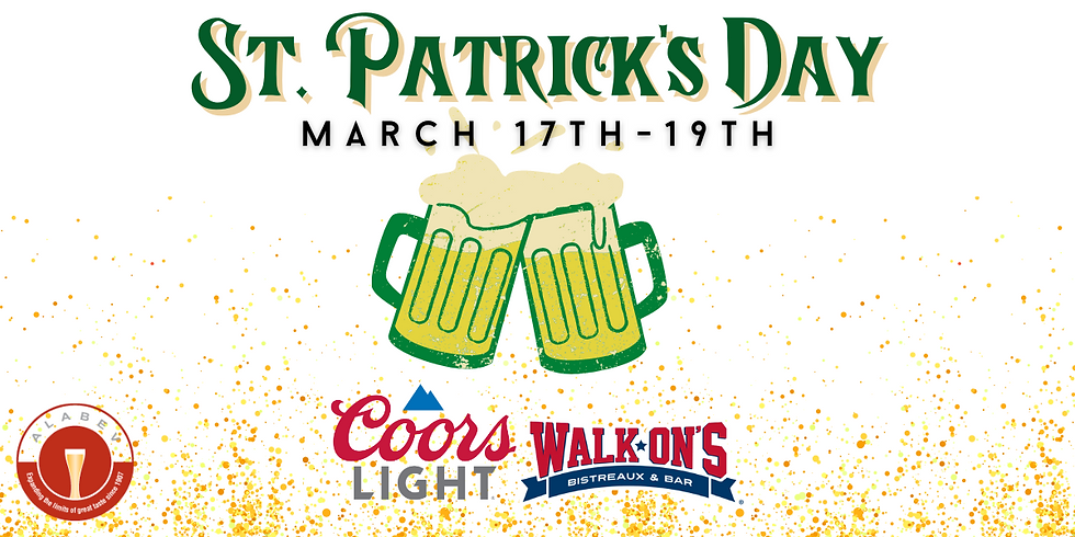 St. Patty's at Walk-Ons Hoover!
