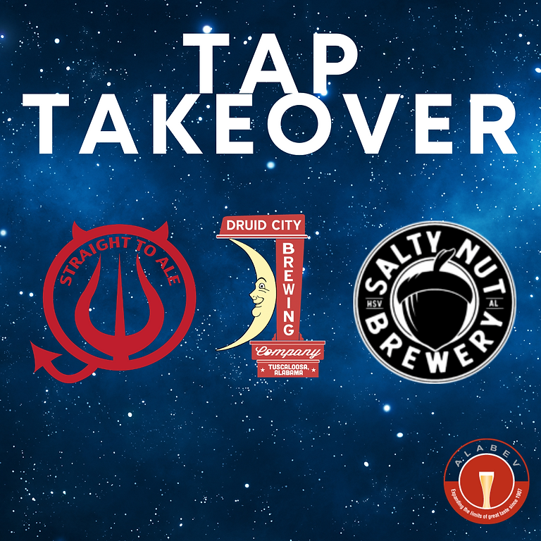Straight to Ale, Druid City & Salty Nut Tap Takeover at Thirsty Pig Dothan