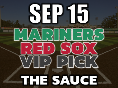 Mariners vs Red Sox VIP Pick September 15th