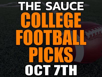 College Football Picks Tonight 10/7