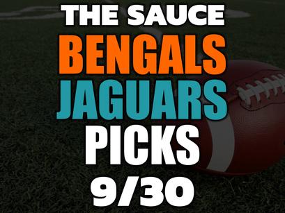 Bengals vs Jaguars Picks 9/30