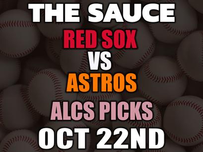 Red Sox vs Astros ALCS Game 6 Picks