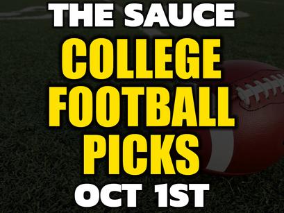 College Football Picks Friday 10/1