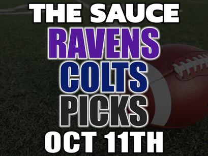 Ravens vs Colts Picks MNF 10/11