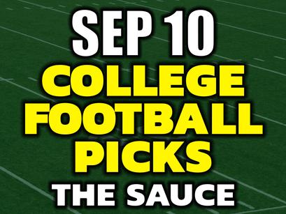 College Football Picks Tonight Friday Sep. 10th