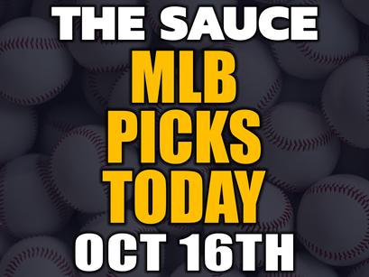 MLB Picks Saturday 10/16
