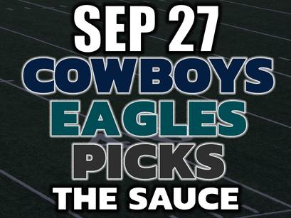 Cowboys vs Eagles MNF Pick 9/27