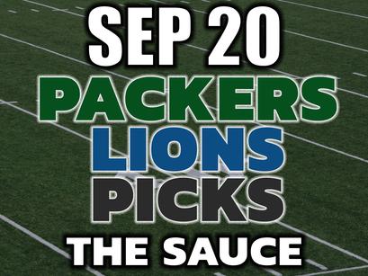 Packers vs Lions VIP Picks MNF September 20th