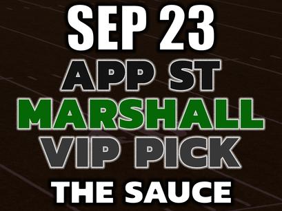 Appalachian State vs Marshall VIP Picks