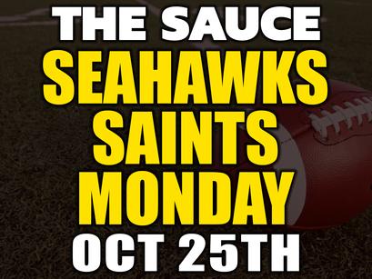 Seahawks vs Saints MNF Picks Monday 10/25