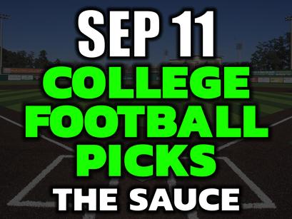 College Football Picks Saturday September 11th