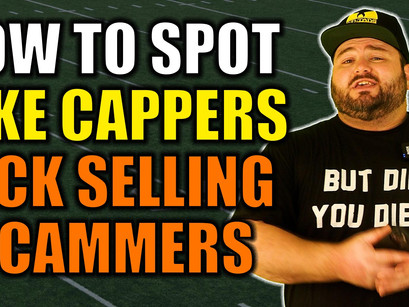 How To Spot Fake Handicappers / Pick Selling Scammers