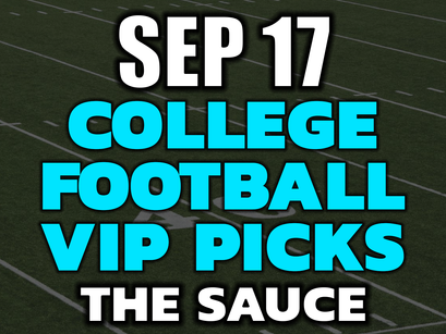 College Football Picks Friday September 17th