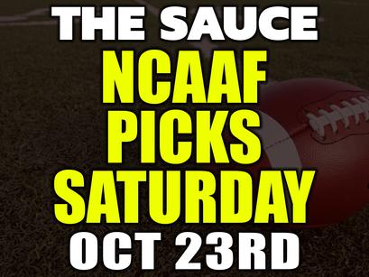 College Football Picks Saturday 10/23