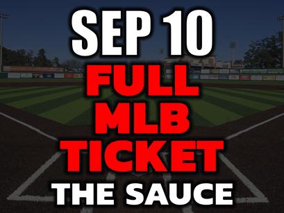 MLB Picks Tonight Friday September 10th