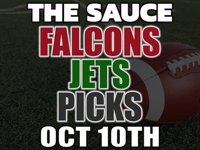Falcons vs Jets Picks Sunday 10/10