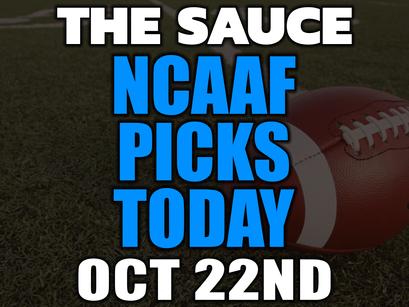 NCAAF Picks 10/21