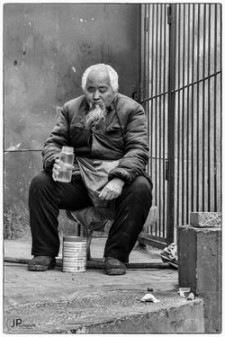 Old man in Beijing