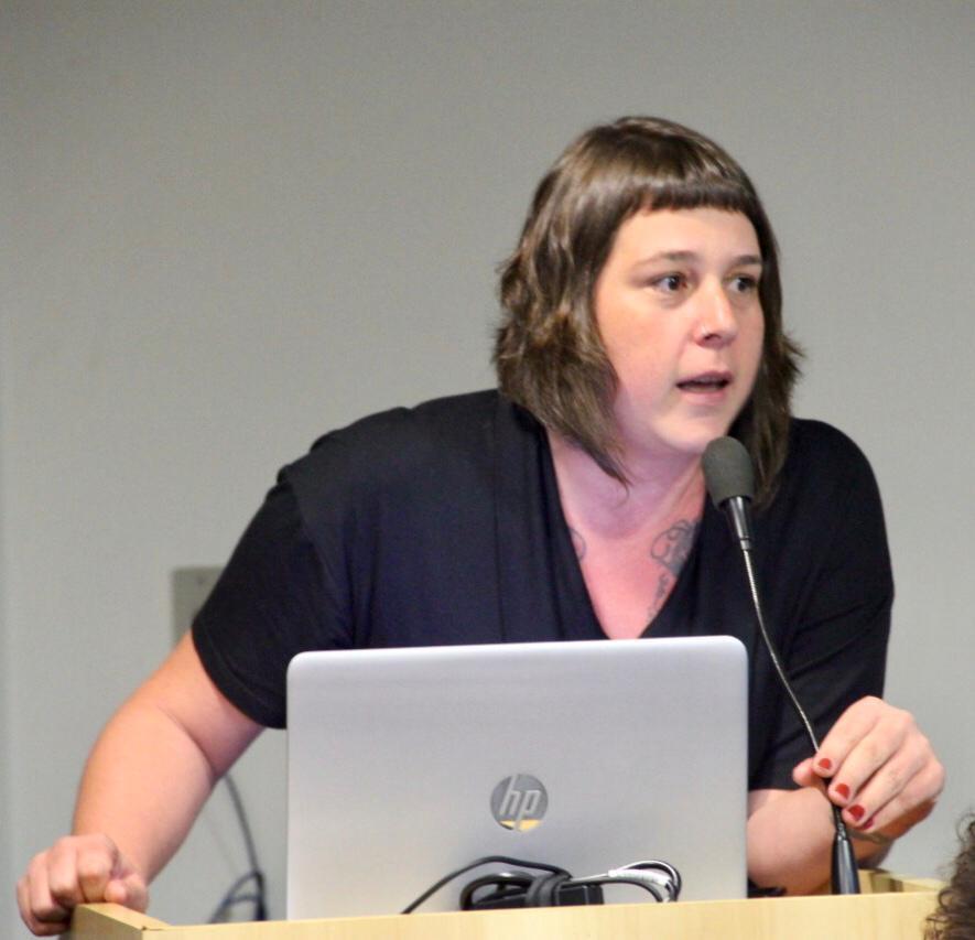 Patricia Pavanelli apresenta pesquisa MPT/IBOPE. Créditos: Giullia Perussetto.