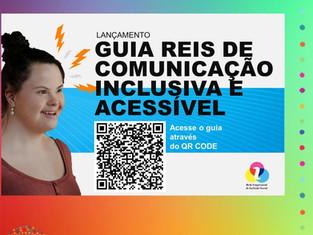 Lançamento Guia de Comunicação Inclusiva e Acessível