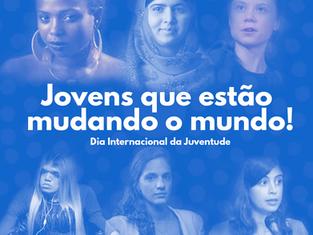 Dia Mundial da Juventude: conheça seis jovens que estão mudando o mundo