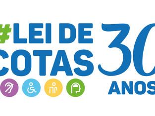 Evento em comemoração ao 30º Aniversário da Lei de Cotas